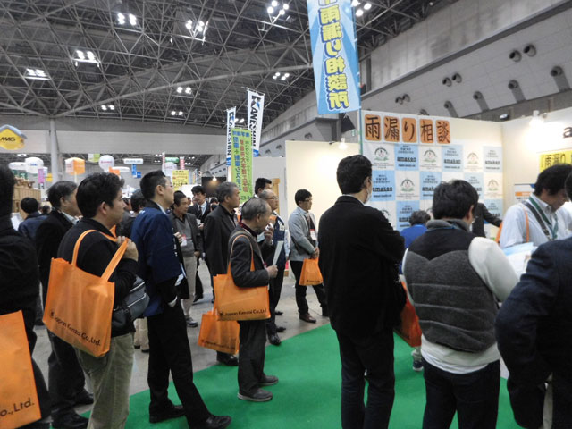 第35回ジャパン建材フェアに出展